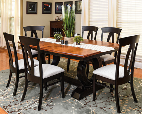 Brilliant Dining Room Furniture Heartland Amish Furniture Home Interior And Landscaping Oversignezvosmurscom
