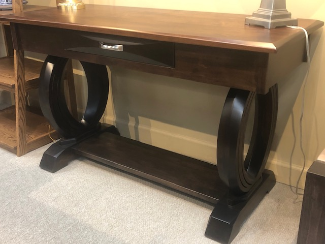 Sofa Table with Onyx Base