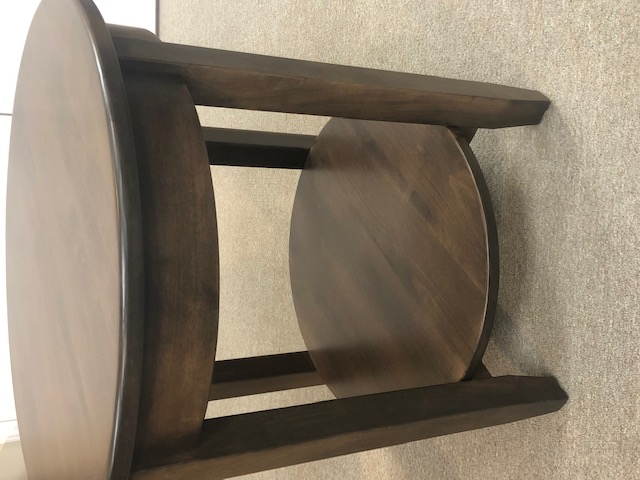 Brown Maple Shaker End Table