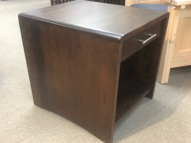 Nova End Table in Cherry